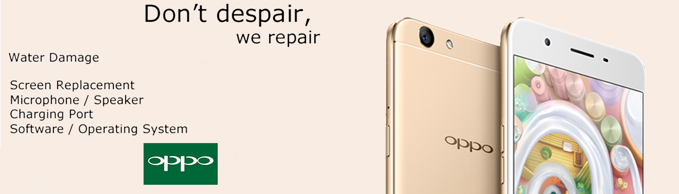 oppo mobile phone repairing slide1